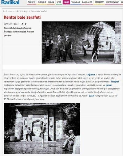 In Haste / Ayaküstü Kentte bale zerafeti Hayat Haberleri Radikal